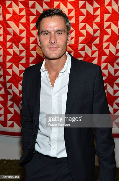 Actor Balthazar Getty attends the GiveLove 2nd Annual Art Auction And Fundraiser For Haiti With Patricia Arquette Rosetta Getty held at a private...