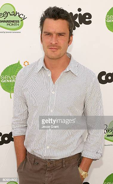 Actor Balthazar Getty attends the Motherhood Begins Now event held at the Skirball Cultural Center May 1 2008 in Los Angeles California