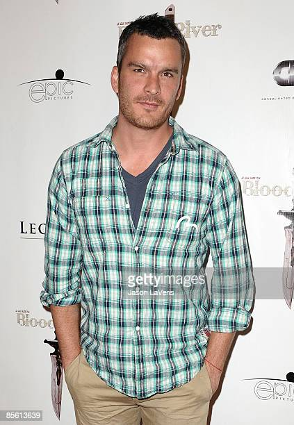 Actor Balthazar Getty attends the premiere of Blood River at the Egyptian Theater on March 24 2009 in Hollywood California