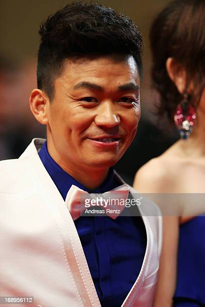 Actor Baoqiang Wang attends the Premiere of 'Tian Zhu Ding' during The 66th Annual Cannes Film Festival at Palais des Festivals on May 17 2013 in...
