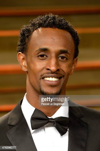 Actor Barkhad Abdi attends the 2014 Vanity Fair Oscar Party hosted by Graydon Carter on March 2 2014 in West Hollywood California