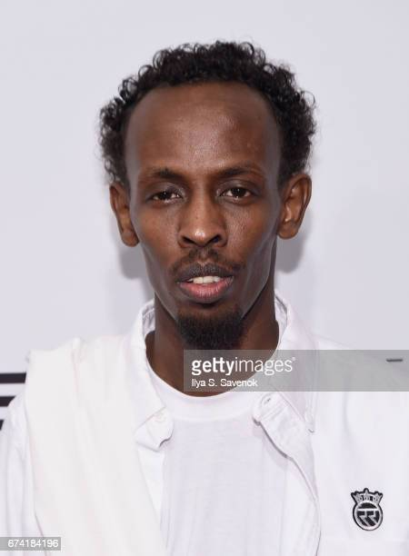 Actor Barkhad Abdi attends the 'Dabka' Premiere during the 2017 Tribeca Film Festival at SVA Theater on April 27 2017 in New York City
