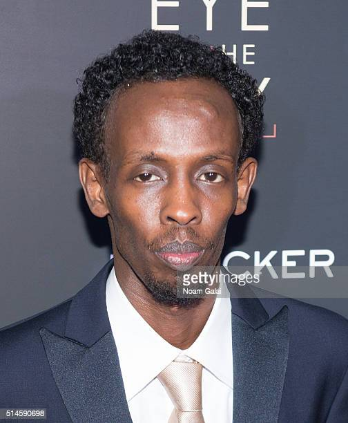 Actor Barkhad Abdi attends the 'Eye In The Sky' New York premiere at AMC Loews Lincoln Square 13 theater on March 9 2016 in New York City