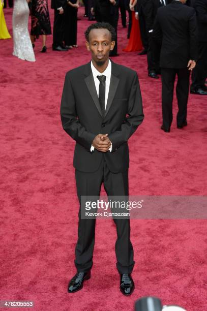 Actor Barkhad Abdi attends the Oscars held at Hollywood Highland Center on March 2 2014 in Hollywood California