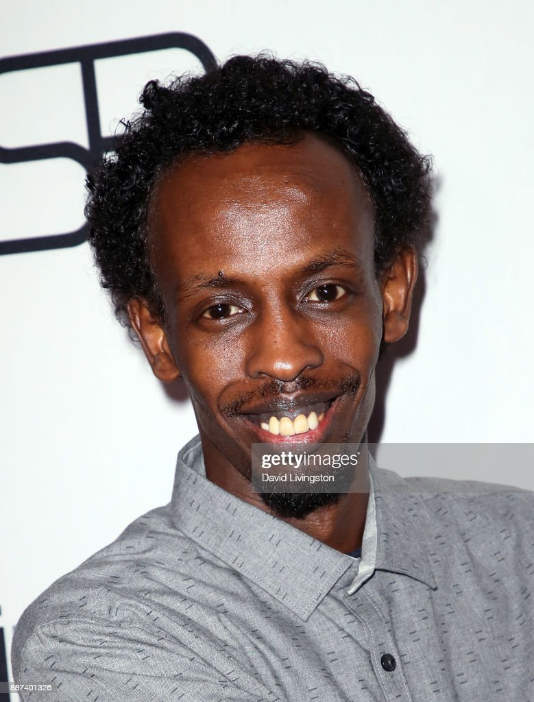 Actor Barkhad Abdi attends the premiere of Front Row Filmed Entertainment's 'The Pirates of Somalia' at TCL Chinese 6 Theatres on December 6, 2017 in Hollywood, California.