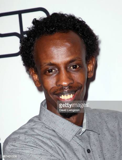 Actor Barkhad Abdi attends the premiere of Front Row Filmed Entertainment's 'The Pirates of Somalia' at TCL Chinese 6 Theatres on December 6 2017 in...