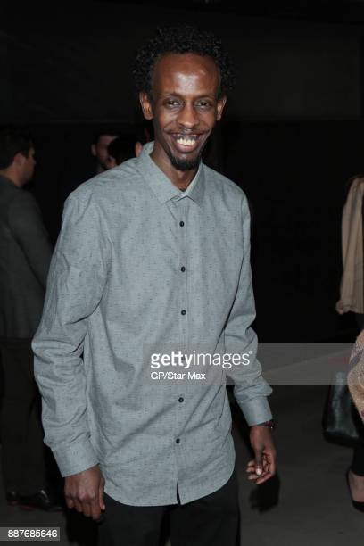 Actor Barkhad Abdi is seen on December 6 2017 in Los Angeles CA