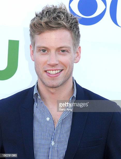 Actor Barrett Foa arrives at the 2012 CBS Showtime and The CW TCA Summer Party at 9900 Wilshire Blvd on July 29 2012 in Beverly Hills California