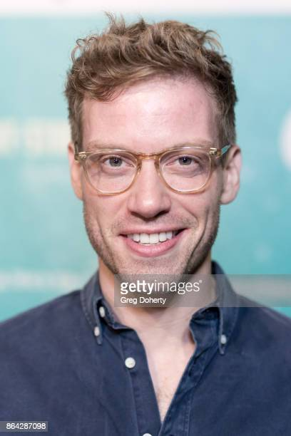 Actor Barrett Foa arrives at the Opening Night Of 'Bright Star' at Ahmanson Theatre on October 20 2017 in Los Angeles California