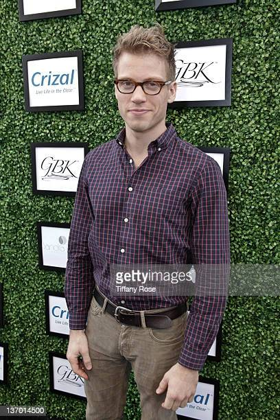 Actor Barrett Foa attends GBK's Golden Globes Gift Lounge at L'Ermitage Beverly Hills Hotel on January 14 2012 in Beverly Hills California