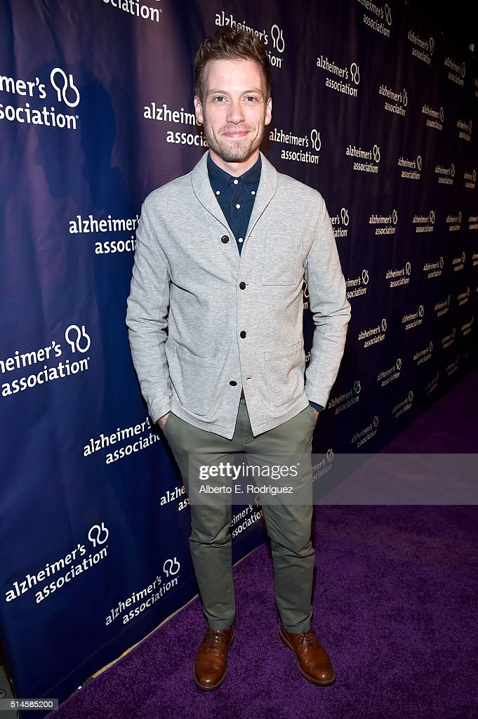 Actor Barrett Foa attends the 24th and final 'A Night at Sardi's' to benefit the Alzheimer's Association at The Beverly Hilton Hotel on March 9, 2016 in Beverly Hills, California.