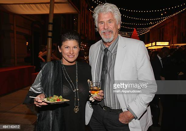 Actor Barry Bostwick and actress Sherii Jensen attend the after party during the 25th annual EMA Awards presented by Toyota and Lexus and hosted by...