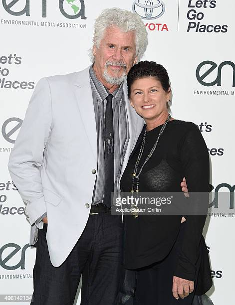 Actor Barry Bostwick and Sherri Jensen attend the 25th annual EMA Awards presented by Toyota and Lexus and hosted by the Environmental Media...