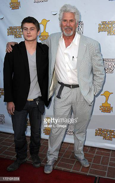 Actor Barry Bostwick and son Brian attend the 30th Annual Saturn Awards held at The Castaway on June 26 2013 in Burbank California