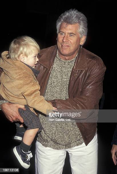 Actor Barry Bostwick and son Brian Bostwick attending the launch party for 'James And The Giant Peach' on October 3 1996 at Children's Museum in New...