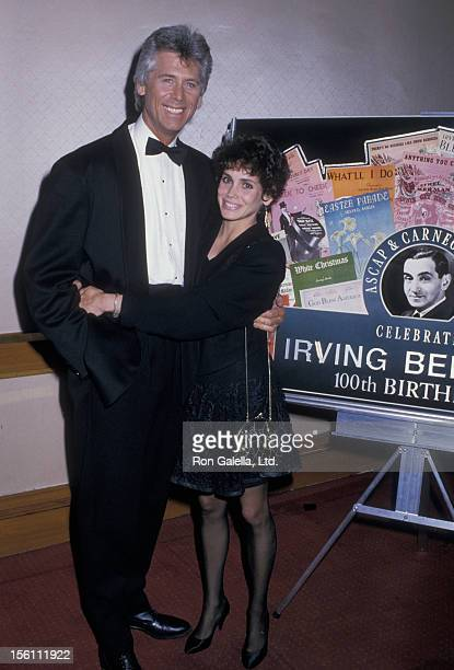 Actor Barry Bostwick and wife Stacey Nelkin attending 100th Birthday Party For Irving Berlin on May 11 1988 at Carnegie Hall in New York City New York