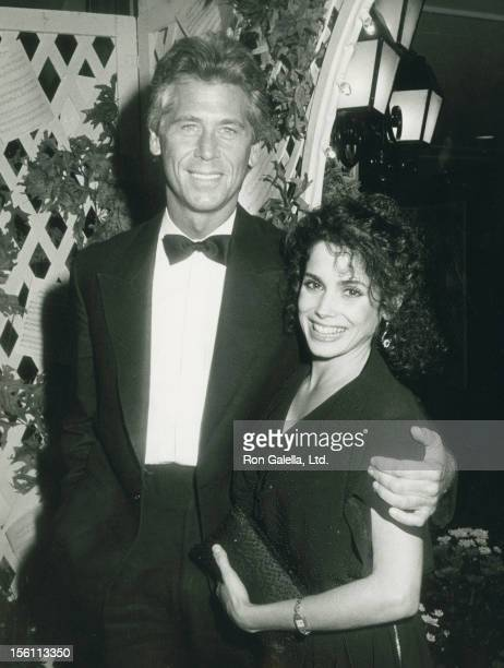 Actor Barry Bostwick and wife Stacey Nelkin attending 29th Annual Thalians Ball on November 3 1984 at the Century Plaza Hotel in Century City...