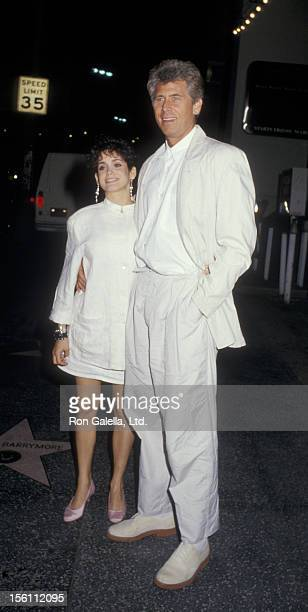 Actor Barry Bostwick and wife Stacey Nelkin attending 'Gary Hart Fundraiser' on April 15 1987 at the Hollywood Palladium in Hollywood California