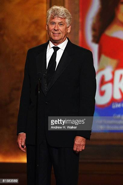 Actor Barry Bostwick introduces a performance onstage during the 62nd Annual Tony Awards held at Radio City Music Hall on June 15 2008 in New York...