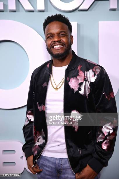 Actor Barry Brewer attends BET's 'American Soul' Red Carpet at Wolf Theatre on February 04 2019 in North Hollywood California