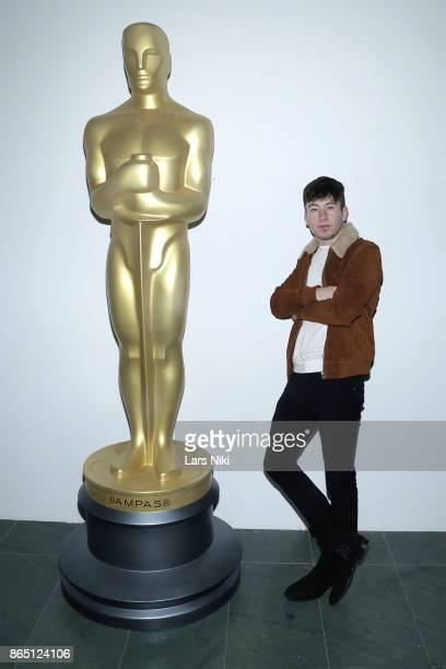 Actor Barry Keoghan attends The Academy of Motion Picture Arts Sciences official academy screening of 'The Killing of a Sacred Deer' at the MOMA...