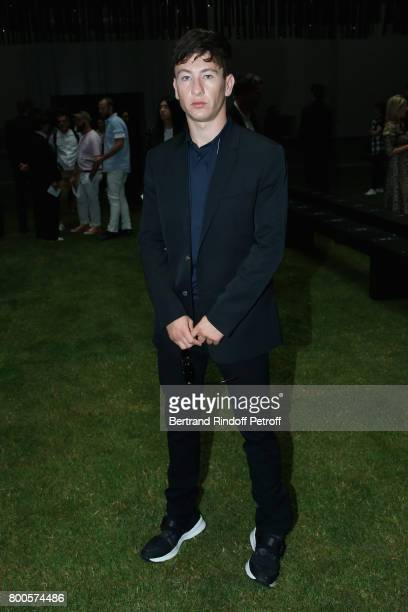 Actor Barry Keoghan attends the Dior Homme Menswear Spring/Summer 2018 show as part of Paris Fashion Week on June 24 2017 in Paris France