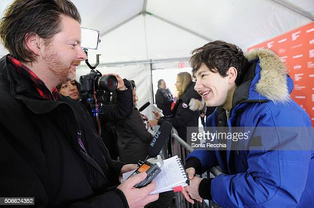 Actor Barry Keoghan attends the 'Mammal' Premiere during the 2016 Sundance Film Festival at Library Center Theater on January 24 2016 in Park City...