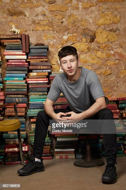Actor Barry Keoghan from the film 'American Animals' poses for a portrait in the Getty Images Portrait Studio Powered by Pizza Hut at the 2018 SXSW...