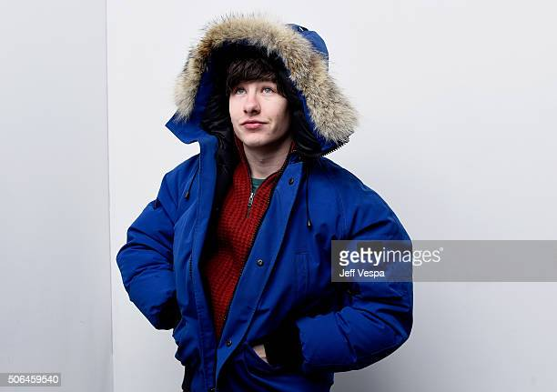 Actor Barry Keoghan from the film 'Mammal' poses for a portrait during the WireImage Portrait Studio hosted by Eddie Bauer at Village at The Lift on...