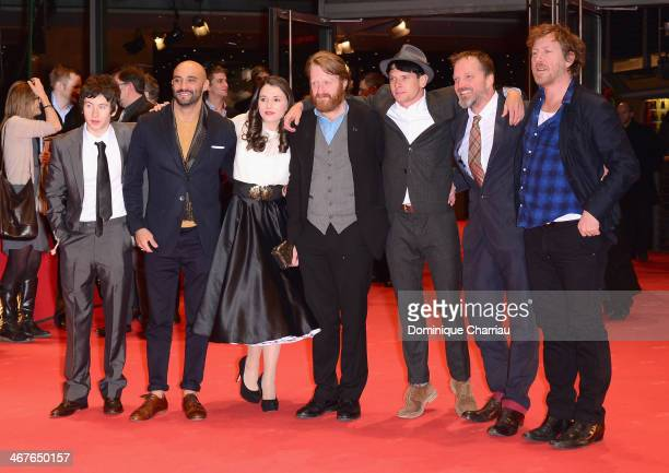 Actor Barry Keoghandirector Yann Demange actress Charlie Murphy actor David Wilmot actor Jack O'Connell Tat Radcliffe and guest attend the '71'...