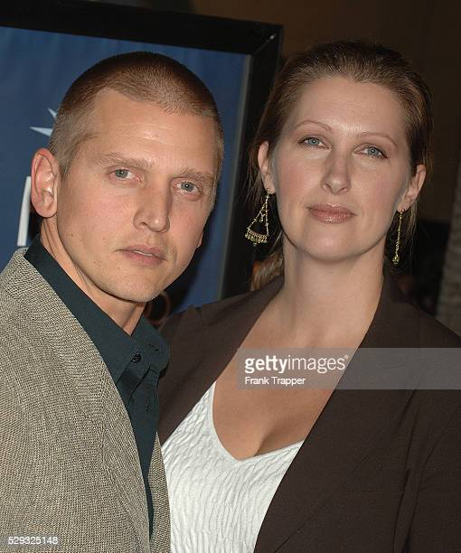 Actor Barry Pepper and wife Cindy arrive at the premiere of The Three Burials of Melquiades Estrade at the Egyptian Theatre