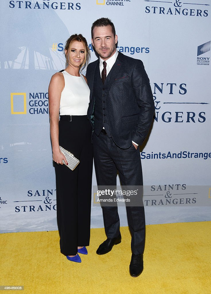 """Premiere Of National Geographic Channel's """"Saints And Strangers"""" - Arrivals : News Photo"""