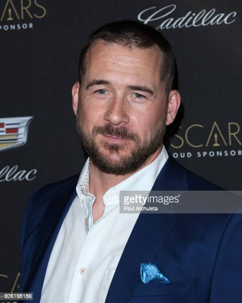 Actor Barry Sloane attends the Cadillac celebration for the 90th Annual Academy Awards at Chateau Marmont on March 1 2018 in Los Angeles California