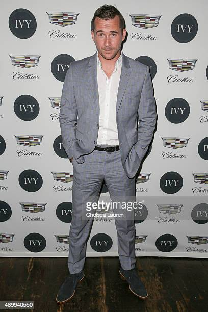 Actor Barry Sloane attends the IVY Los Angeles innovator dinner presented by Cadillac and IVY at AOC on April 15 2015 in Los Angeles California