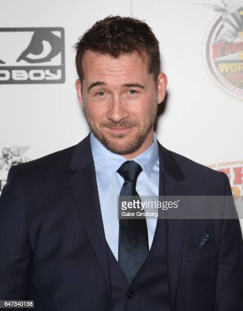 Actor Barry Sloane attends the ninth annual Fighters Only World Mixed Martial Arts Awards at The Palazzo Las Vegas on March 2 2017 in Las Vegas Nevada