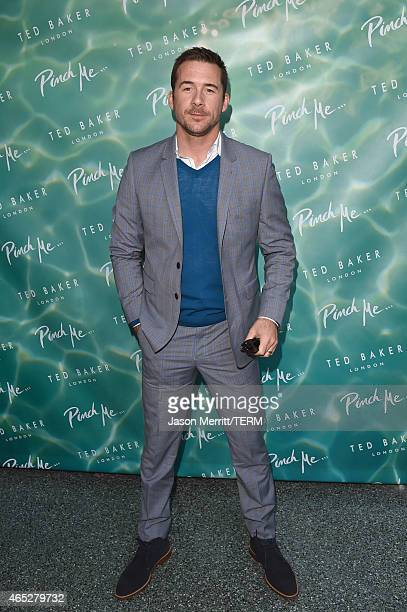 Actor Barry Sloane attends the Ted Baker London's SS15 launch event at Avalon Hotel on March 4 2015 in Beverly Hills California