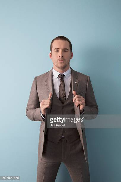 Actor Barry Sloane is photographed for TV Guide Magazine on January 14 2015 in Pasadena California