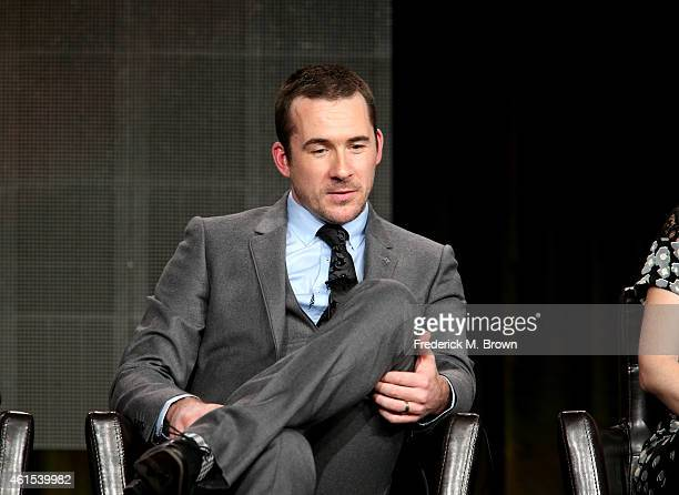Actor Barry Sloane onstage during the 'The Whispers' panel at the Disney/ABC Television Group portion of the 2015 Winter Television Critics...
