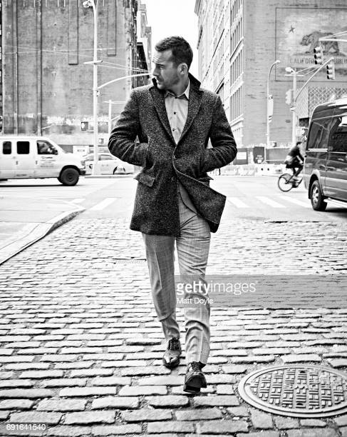 Actor Barry Sloane photographed for Back Stage on December 6 2016 in New York City