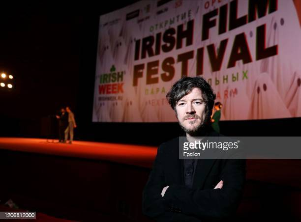 Actor Barry Ward attends the Irish Film Festival at Oktyabr Cinema Hall on March 11, 2020 in Moscow, Russia.
