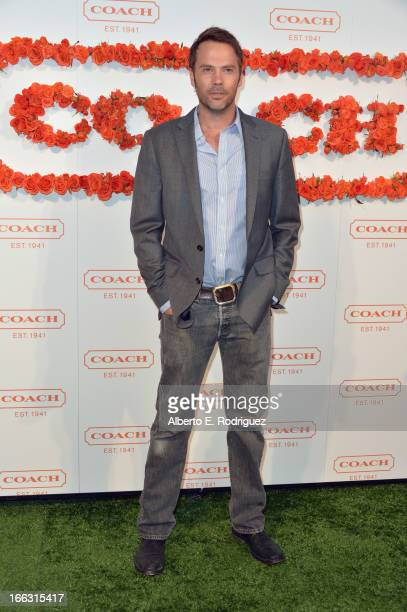 Actor Barry Watson attends the 3rd Annual Coach Evening to benefit Children's Defense Fund at Bad Robot on April 10 2013 in Santa Monica California