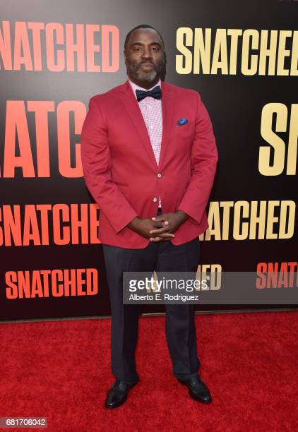 Actor Bashir Salahuddin attends the premiere of 20th Century Fox's Snatched at Regency Village Theatre on May 10 2017 in Westwood California