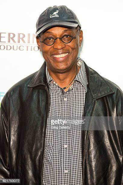 Actor Basil Wallace arrives for the Screening Of Perrine Productions' 'Funny Married Stuff' at the ACME Comedy Theatre on November 7 2016 in Los...