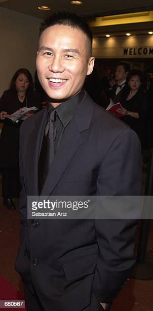 Actor BD Wong arrives at the Second Annual AMMY Awards For Asian American Entertainment November 10 2001 in Los Angeles CA