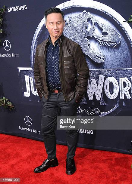 Actor BD Wong arrives at Universal Pictures World Premiere of 'Jurassic World' at Dolby Theatre on June 9 2015 in Hollywood California