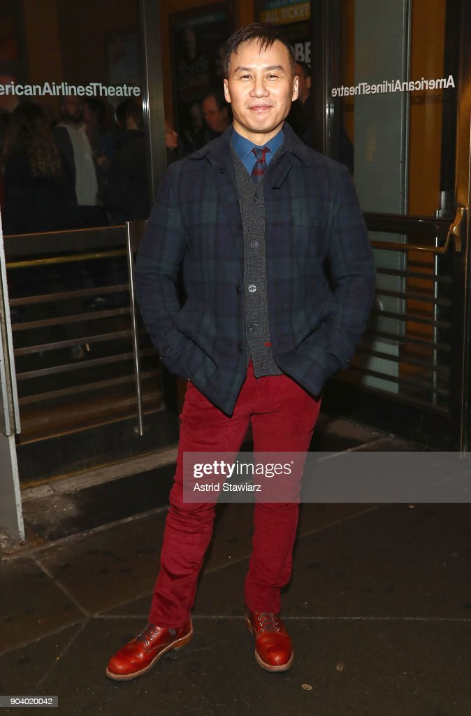 Actor BD Wong attends opening night of 'John Lithgow: Stories By Heart' at American Airlines Theatre on January 11, 2018 in New York City.