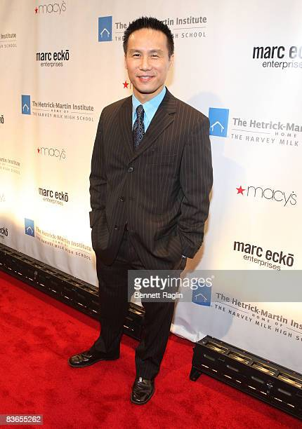 Actor BD Wong attends the 2008 Emery Awards at Cipriani on November 11 2008 in New York City