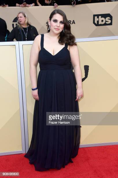 Actor Beanie Feldstein attends the 24th Annual Screen ActorsGuild Awards at The Shrine Auditorium on January 21, 2018 in Los Angeles, California.