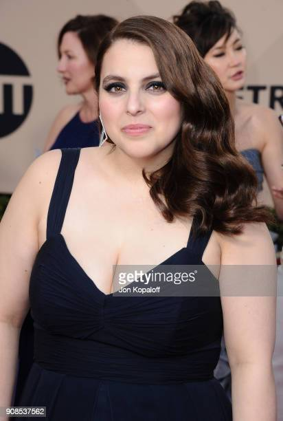 Actor Beanie Feldstein attends the 24th Annual Screen ActorsGuild Awards at The Shrine Auditorium on January 21 2018 in Los Angeles California