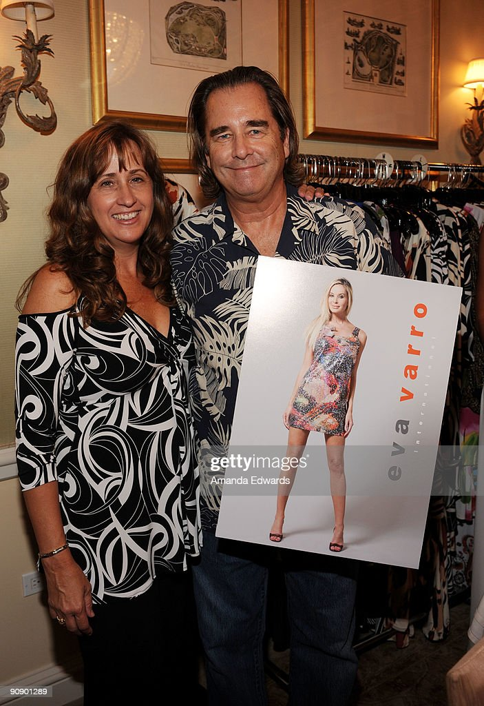 The dpa gift lounge day one actor beau bridges r and his wife wendy l attend the dpa negle Images